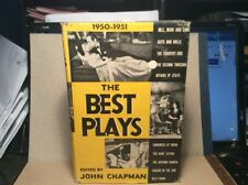 The Best Plays 1950-1951 Edited By John Chapman