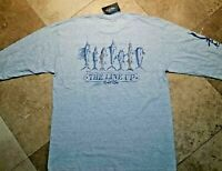*NWT Salt Life Long Sleeve The Line Up Tee Shirt Cotton Blend Gray 2XL