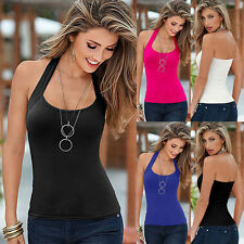 Blouse Halterneck Regular Sleeve Tops & Shirts for Women