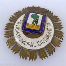 Original insignia -- mintio municipal circulacion -- transporte de policía Madrid