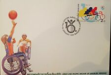 O) 1999 Thailand, Asian And Pacific Decade Of Disabled Persons, Fdc Xf