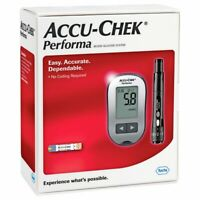 Accu-Chek Performa Glucometer For Glucose Monitoring + 10 Free Strips Free Ship