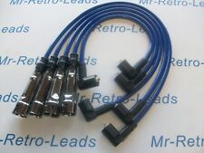 BLUE 8MM PERFORMANCE IGNITION LEADS FOR VW POLO 1.4 QUALITY BUILT HT LEADS