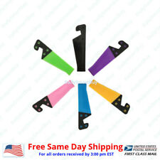 Universal Foldable Cell Phone Desk Stand Holder For iPhone,Samsung & All Mobile