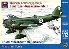 BRISTOL BLENHEIM Mk.I F W/SKIS (FINNISH/ILMAVOIMAT MKGS)#72003 1/72 ARK MODELS