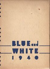 College Yearbook Concordia College Milwaukee Wisconsin WI Blue And White 1940