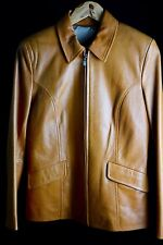 Chaqueta de piel para mujer Color marrón Talla 40