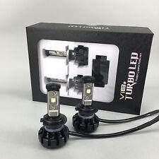 2017 V18 Turbo US Cree LED headlight Kit, Size H7, 80W & 9600LM/Set, White 6000K