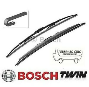 2X Lames de Balayage Bosch 3397118564 Twin Spoiler 502S 500mm 450mm Peugeot 106