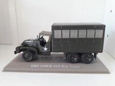 Véhicule militaire métal  WW2 - GMC CCKW 353 Box Truck - US Army.  ATLAS 1/43