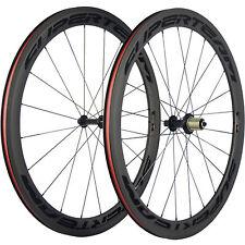 SUPERTEAM Bicycle Carbon Wheelset 50mm Road Bike Carbon Wheel Sapim CX-Ray Spoke