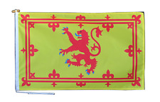 More details for scotland lion rampant flag with rope and toggle - various sizes