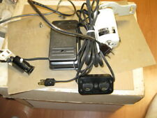 SEWING MACHINE MOTOR, 1.2A METAL FOOT PEDAL, MOTOR/LIGHT RECEPTACLE, POWER CORD