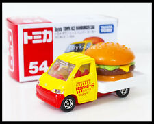 TOMICA #54 TOYOTA TOWN ACE HAMBURGER CAR 1/64 TOMY 2014 January New Model