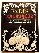 PARIS/BOUTIQUES D HIER/CAT EXPO MUSEE ARTS ET TRADITIONS POPULAIRES/1977