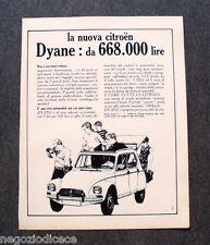 O207 - Advertising Pubblicità - 1967 - LA NUOVA CITROEN DYANE