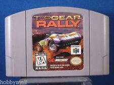 Nintendo 64 N64 Top Gear Rally Video Game