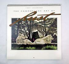 1997 2025 Donald D.L. Rusty Rust The Camouflage Art of Rust Wildlife Calendar