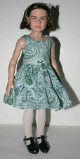"""Dress & Bolero Doll Clothes Sewing Pattern 13"""" Lucy Pevensie Narnia Tonner"""