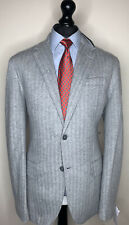 RARE RALPH LAUREN POLO LUXURY DESIGNER TWEED JACKET CASHMERE FEEL FIT: LARGE