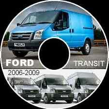 FORD TRANSIT VAN VM 2006-2010 WORKSHOP SERVICE REPAIR MANUAL PDF CD-ROM