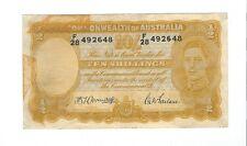 Australia - Ten (10) Shillings 1942