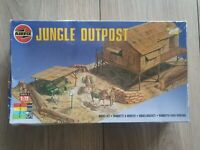 Airfix WW2 Jungle Outpost Diorama with Original Airfix Diorama Base