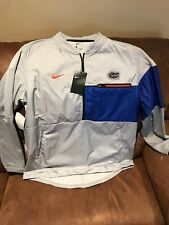 NIKE SHIELD FLORIDA GATORS NCAA HALF ZIP JACKET NWT Size XLarge Men