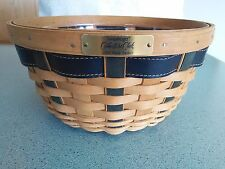 Longaberger 2004 Collector's Club Ware basket & protector