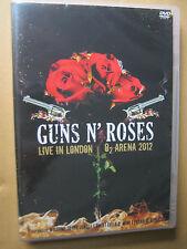DVD    GUNS N ROSES  LIVE IN LONDON 02 ARENA 2012   DVD