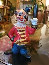Vintage Norleans Clown Figurine Made In Portugal