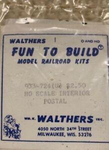 Walthers 933-724 HO Interior Postal