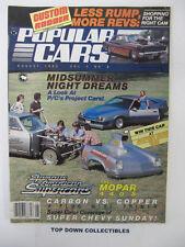 Popular Cars/ Custom Rodder  August 1983   Gayle Mullins, '71 454 Chevelle