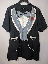 New listing Vintage Tuxedo T-shirt Xl Lnwot 80s Single Stitch