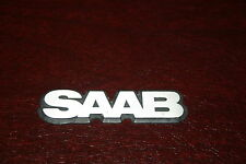 "Classic Saab 900 Hatchback Sedan Small ""SAAB"" Hood Side Emblem"