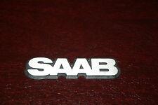 """Classic Saab 900 Hatchback Sedan Small """"SAAB"""" Hood Side Emblem"""