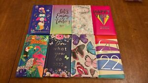 Tallon 2022 week to view padded slim diary choice of cover design