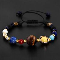 In The Solar System Universe Galaxy Beads Bracelet Fashion Jewelry Bangle Gift