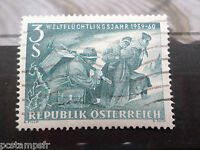 AUTRICHE 1960, timbre 915, ANNEE DU REFUGIE, oblitéré, VF used stamp