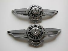 Harley Davidson Fat Boy tankembleme Réservoir Emblèmes des panneaux 14100968 14100969