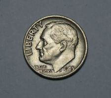 One dime United States of America Coin 1965 GETTONE TOP! (d4)