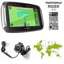 "Navigatore TOMTOM Rider 410 Great Rides ED x moto gps mappe a vita schermo 4,3 """