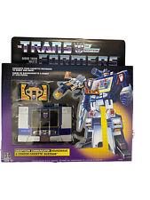 Transformers Soundwave NIB Sealed Walmart Exclusive Gen 1 With Buzzsaw Cassette