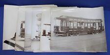 6 United Electric Co Preston England Original Tramcar Photographs 1905-1917