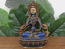 Vajrasattva Bodhisattva Bouddha personnages laiton Tibet Népal a2903