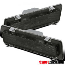 For 85-92 Chevy Camaro Pontiac Firebird Smoke Front Side Marker Signal Lights