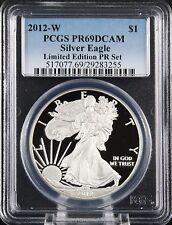 2012 W Silver Eagle Limited Edition Proof Set PCGS PR 69 DCAM