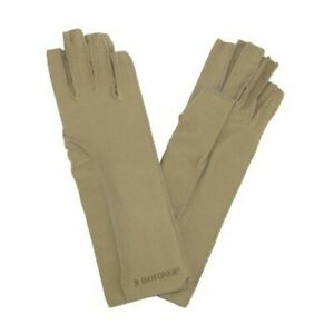New Isotoner Therapeutic Compression Fingerless Gloves