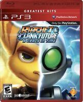 Ratchet & Clank Future: A Crack in Time Sony PlayStation 3 PS3 No Manual Tested
