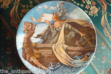 """Longton Crown Pottery Stoke on Trent collector plate """"The Man of Law's Tale""""[2r]"""